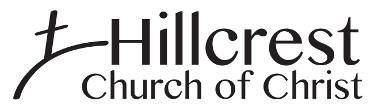 Hillcrest Church of Christ